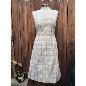 J.Crew Plaid Dress sz 6